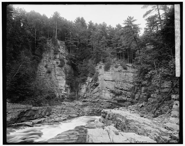 The Elbow, Ausable Chasm