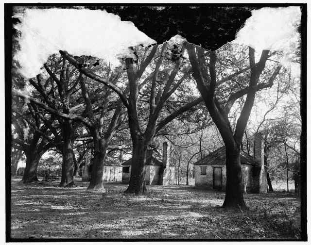 The Hermitage, slave quarters, Savannah, Ga.