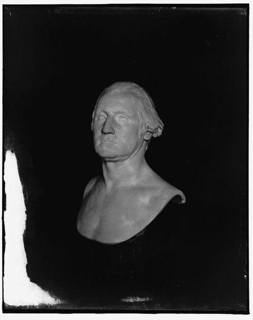 [The Houdon bust of George Washington, Mt. Vernon, Va.]
