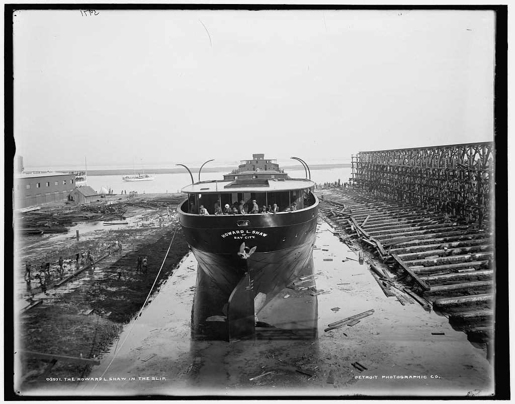 The Howard L. Shaw in the slip