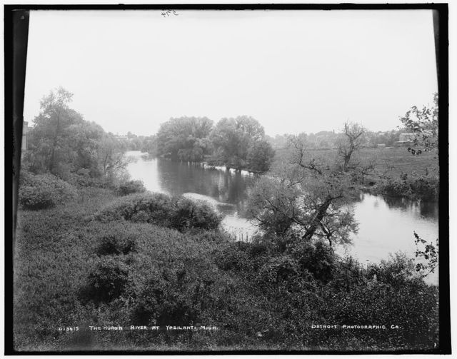 The Huron River at Ypsilanti, Mich.