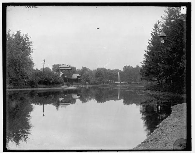 [The Lake, Washington Park, Albany, N.Y.]