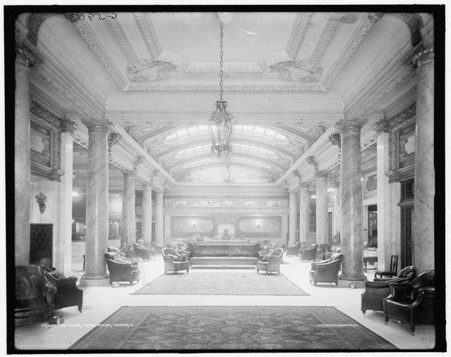 The Lobby, Hotel Secor, Toledo, O[hio]