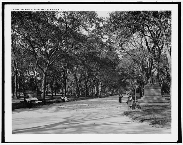 The Mall, Central Park, New York, N.Y.