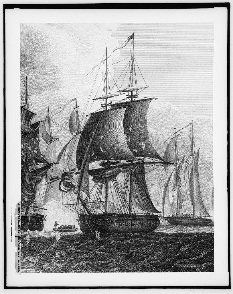 The Niagara, Perry's flagship