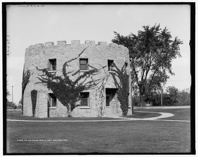 The Old round tower, Fort Snelling, Minn.