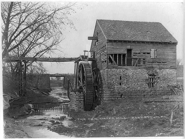 The old water mill, Bardstown, Ky.