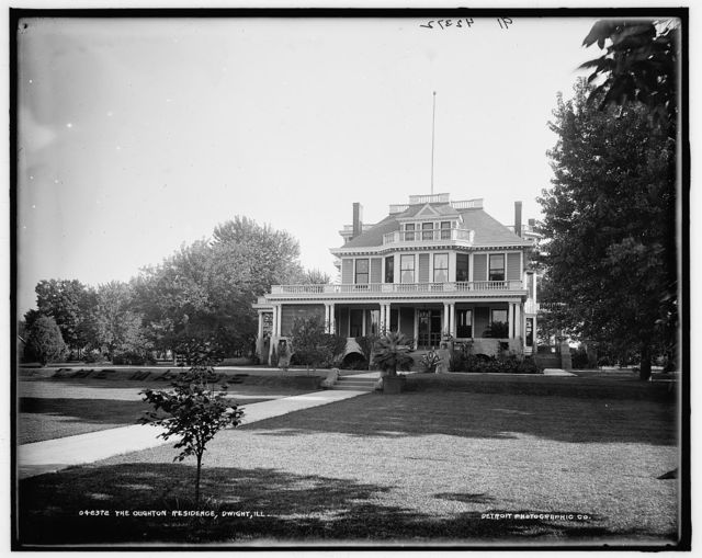 The Oughton residence, Dwight, Ill.