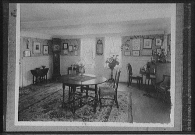 [The Parlor, Longfellow's Wayside Inn, South Sudbury, Mass.]