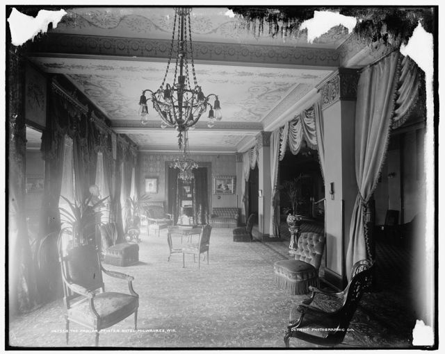 The Parlor, Pfister Hotel, Milwaukee, Wis.