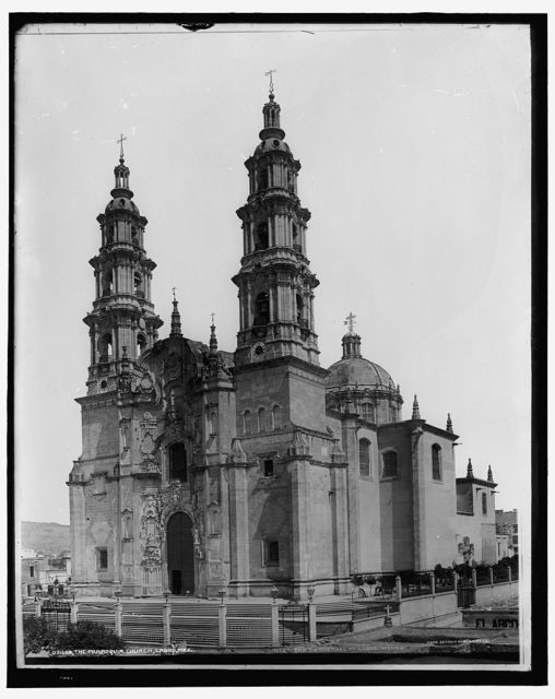 The Parroquia church, Lagos, Mex.