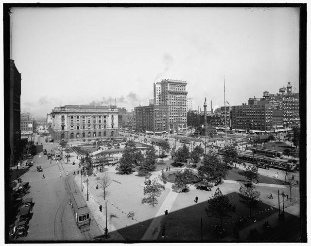 [The Public Square, Cleveland, Ohio]