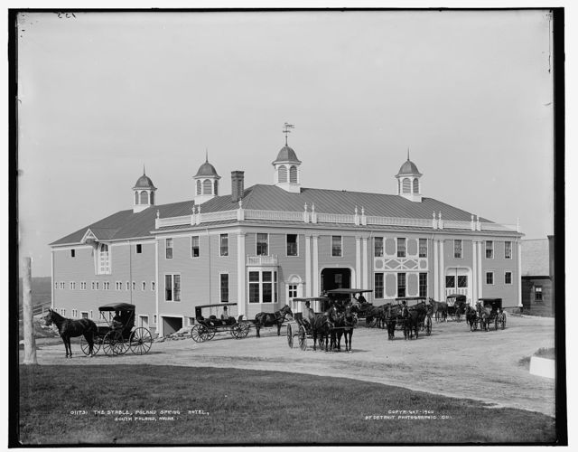 The Stable, Poland Spring Hotel, South Poland, Maine