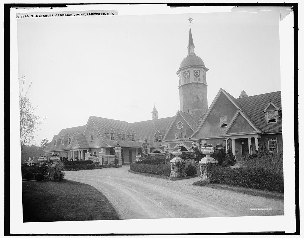 The stables, Georgian Court, Lakewood, N.J.