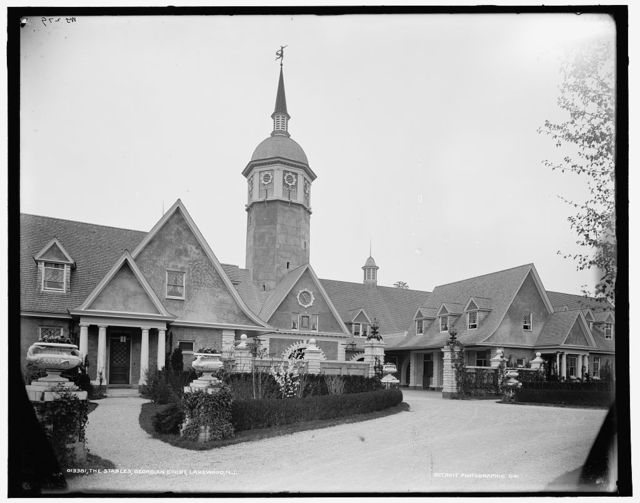 The stables, Georgian Court, Lakewood, N.J.