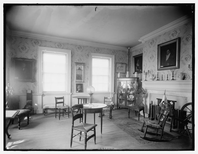 The Tea room, Washington's headquarters, Morris-Jumel Mansion