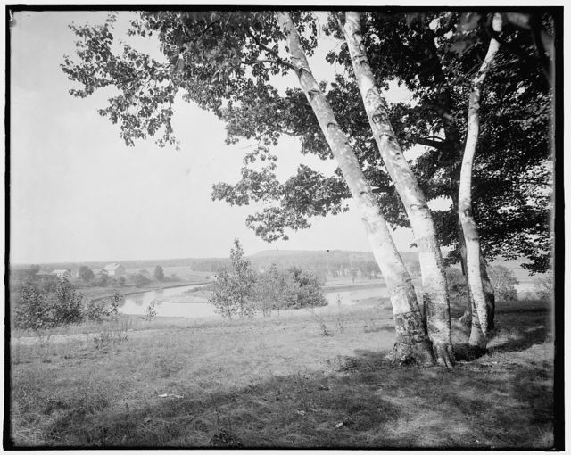 [The Valley of the Winooski from Ethan Allen Park, Burlington, Vt.]