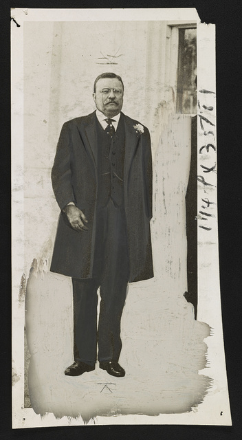 [Theodore Roosevelt, full-length portrait, standing, facing front]