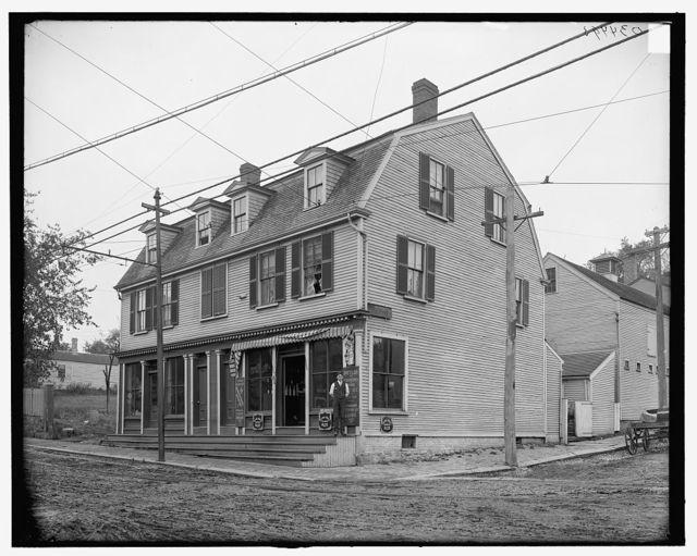 [Thomas Sheafe house, Portsmouth, N.H.]