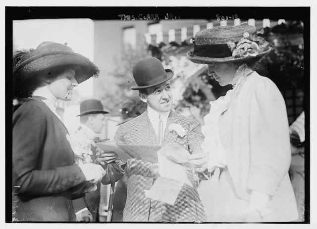 Thos. Clark, Jr., with others, Hope Farm Fair