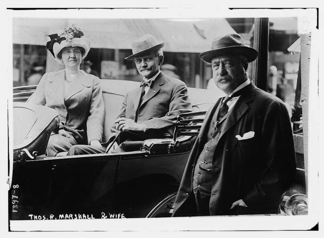 Thos. R. Marshall and wife