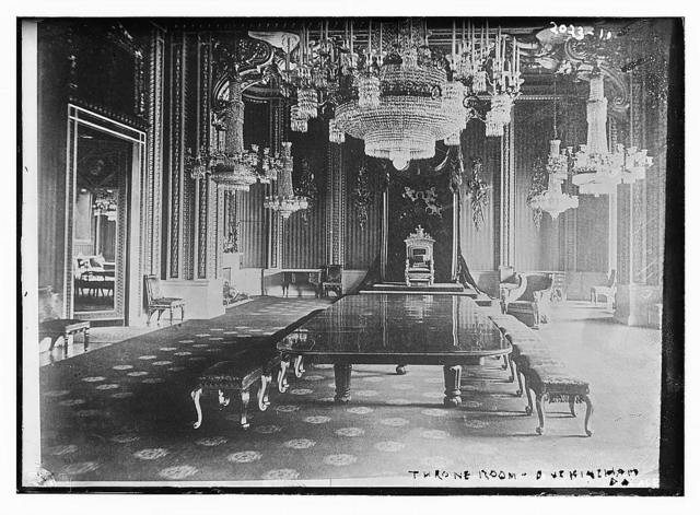 Throne room, Buckingham Palace