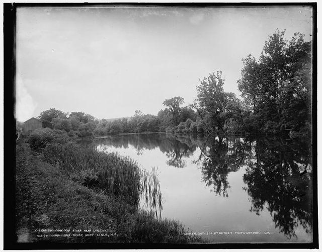 Tioughnioga River near Lisle, N.Y.