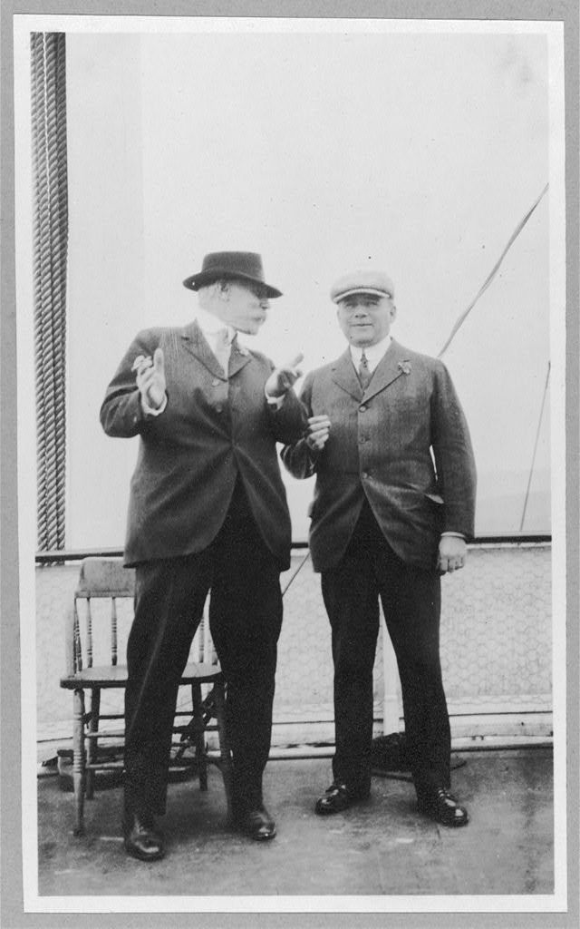 Tom Magowen and W.H. Fairbanks