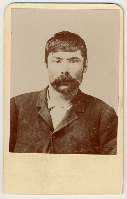 [Tom O'Day, alias Joe Chancellor, member of the Hole in the Wall gang, head-and-shoulders portrait]