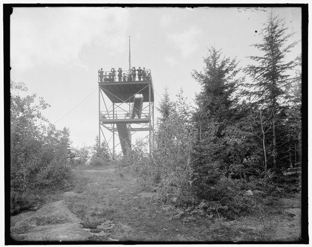 [Tower on Mt. Agassiz, Bethlehem, N.H.]
