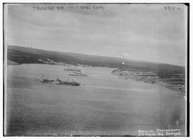 Trepassey Bay -- U.S. naval ships
