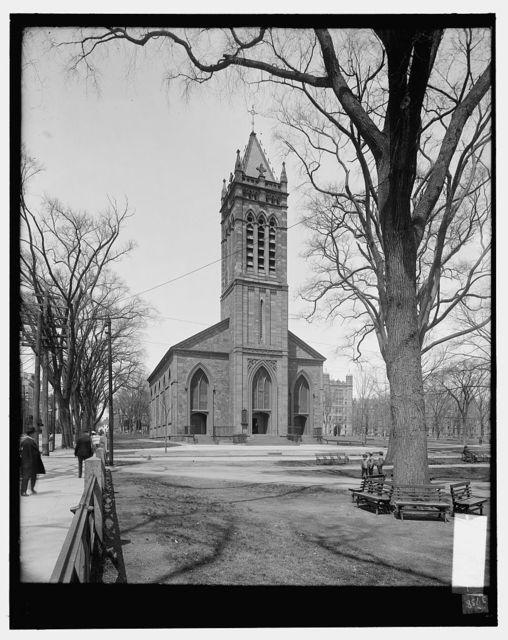 [Trinity Episcopal Church, the Green, New Haven, Conn.]