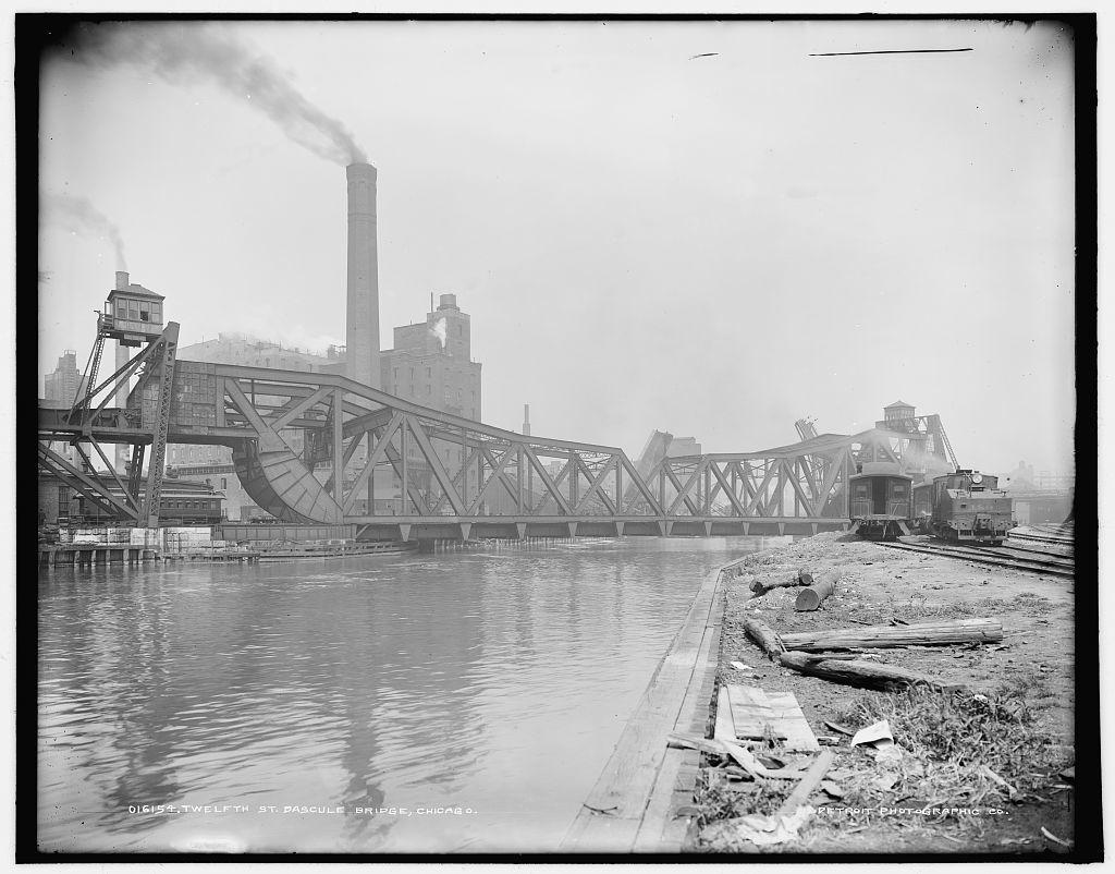 Twelfth St. Bascule Bridge, Chicago