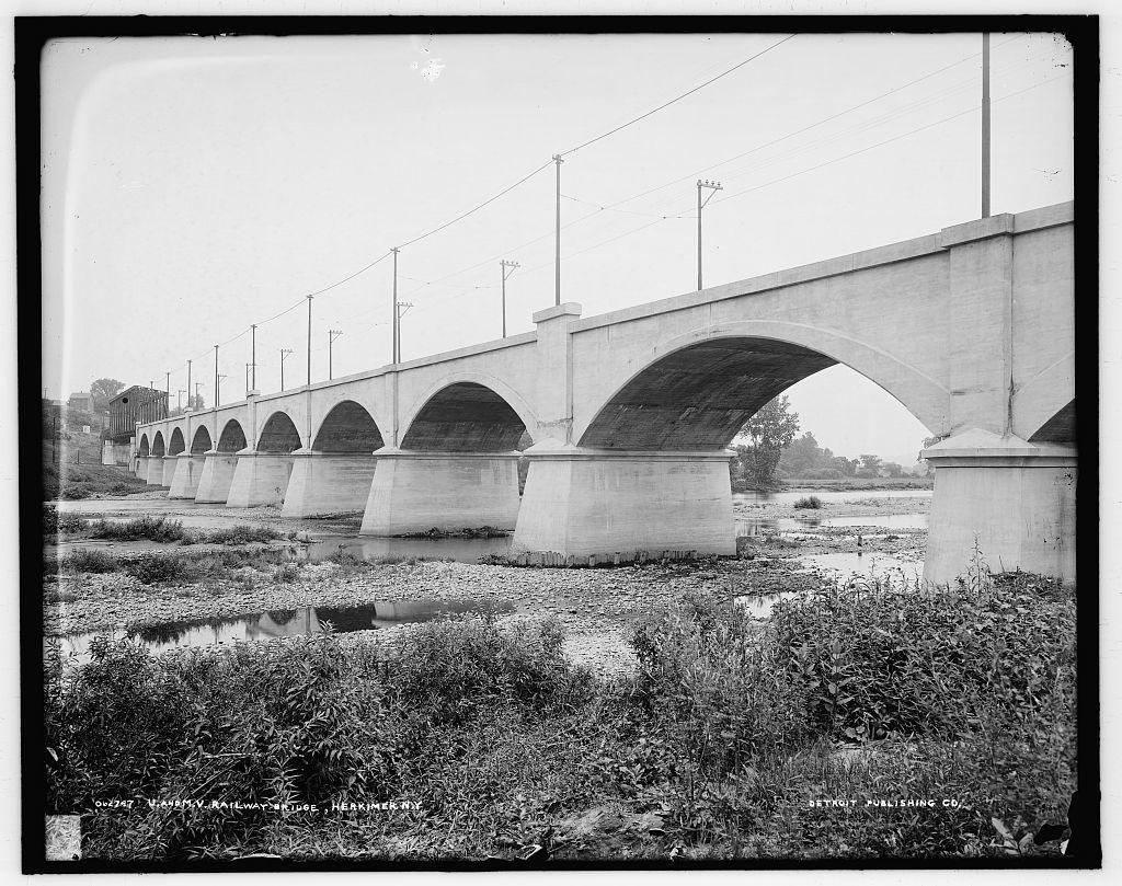 U. and M.V. [Utica & Mohawk Valley] railway bridge, Herkimer, N.Y.