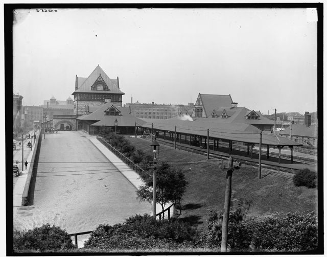 [Union Station, Springfield, Mass.]