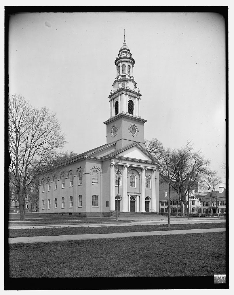 [United Church, the Green, New Haven, Conn.]