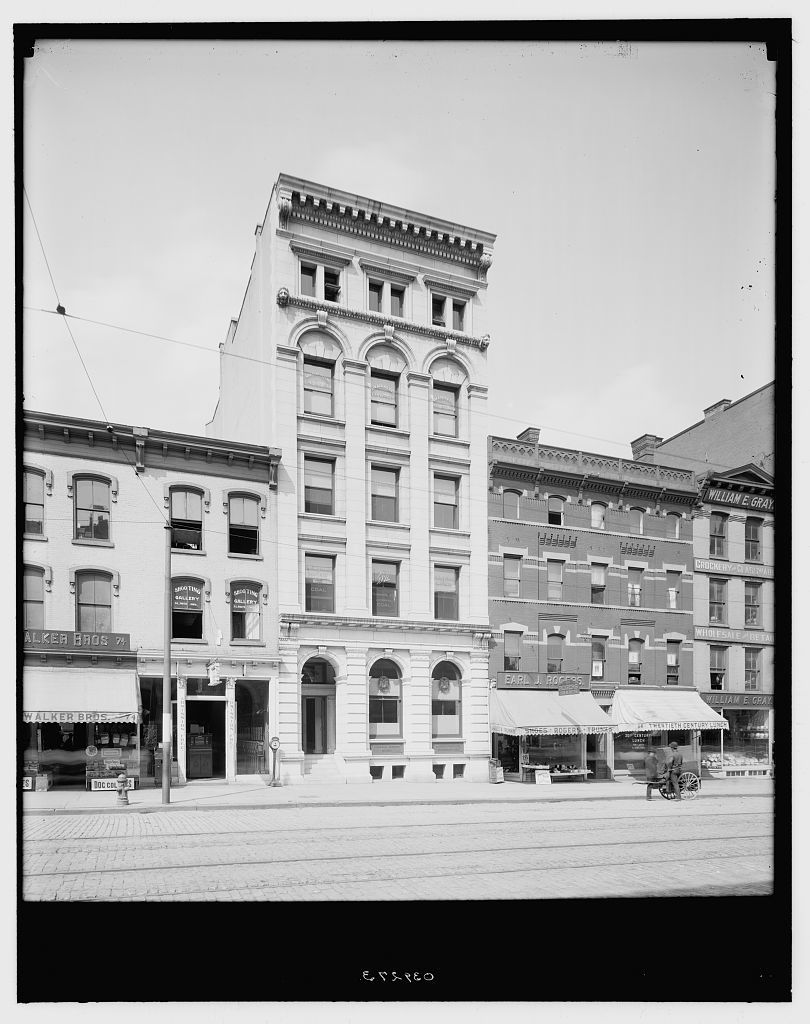 [United Commercial Travelers of America building, Utica, N.Y.]