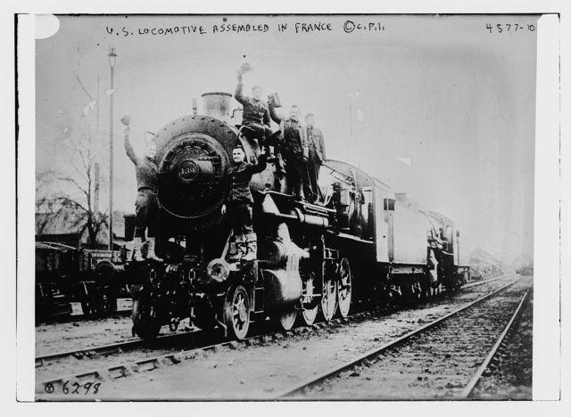 U.S. locomotive assembled in France