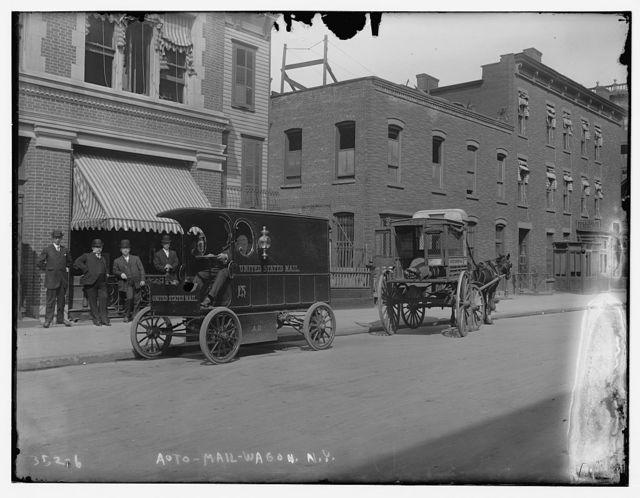 U.S. Mail Wagon Automobile