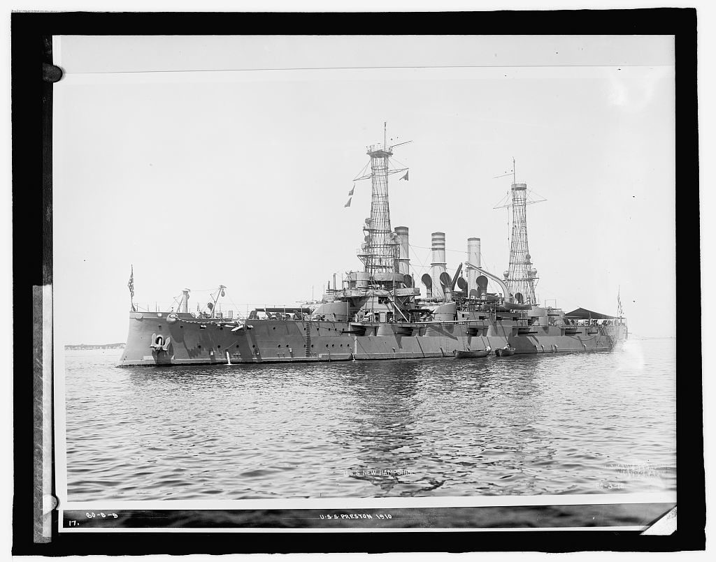 U.S. Ship New Hampshire