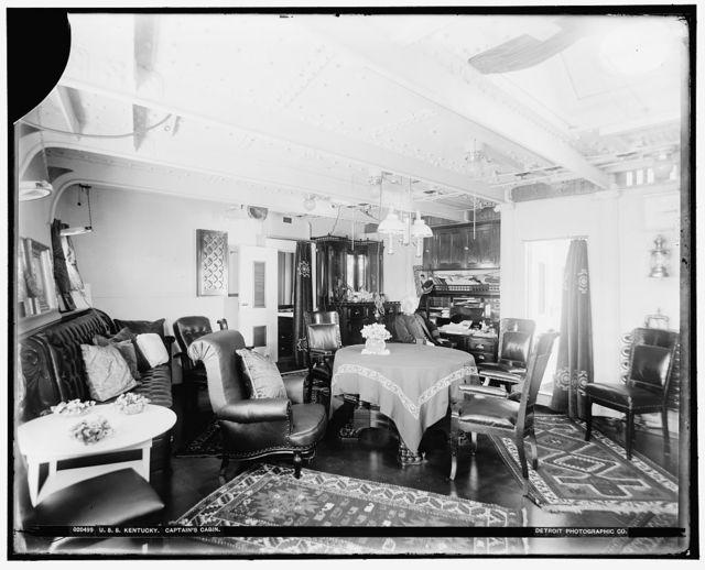 U.S.S. Kentucky, captain's cabin