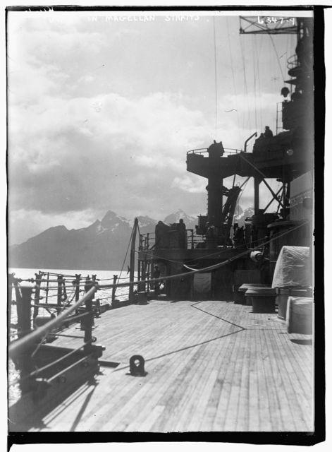 UTAH in Magellan Straits
