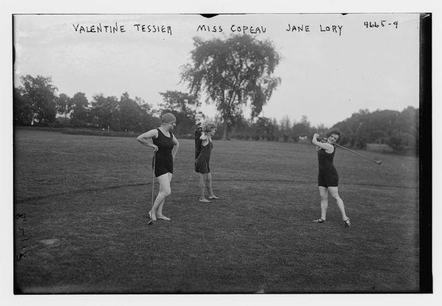 Valentine Tessier, Miss Copeau, Jane Lory