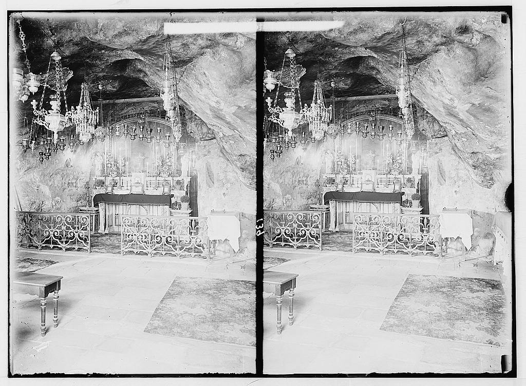Valleys of Jehoshaphat and Hinnom. Grotto of Agony.