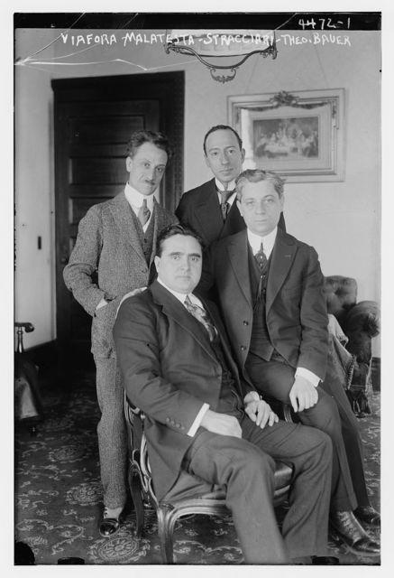 Viafora, Malatesta, Stracciari, Theo. Bauer