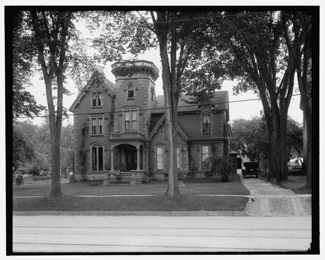 [Vice President James S. Sherman's house Ex-Governor Seymour's house, Utica, N.Y.]