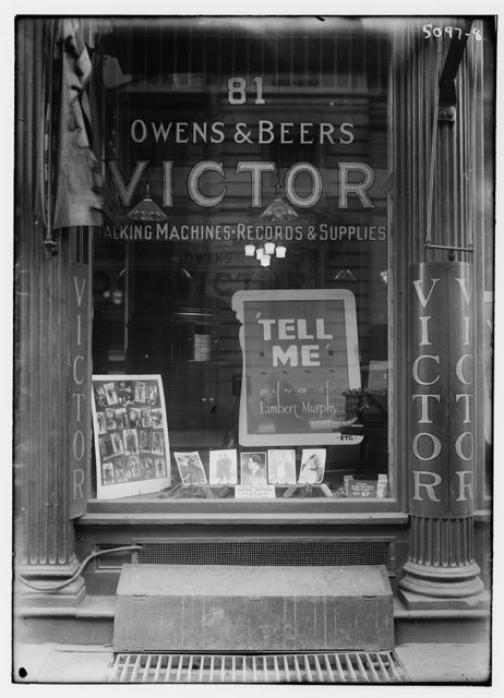 [Victor Record Shop]