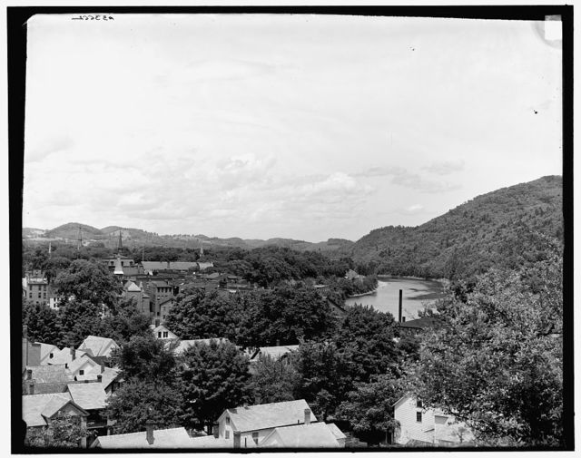 [View from the south, Brattleboro, Vt.]
