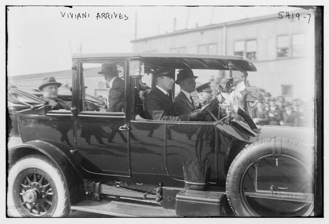 Viviani arrives
