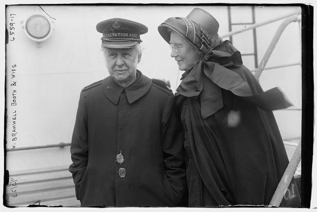 W. Bramwell Booth & wife